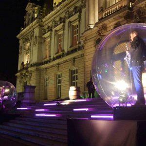 Une bulle de lumière et de musique