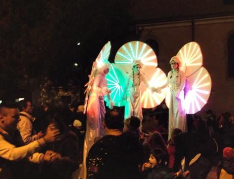 Les Nymphéas en mode «Carnaval»