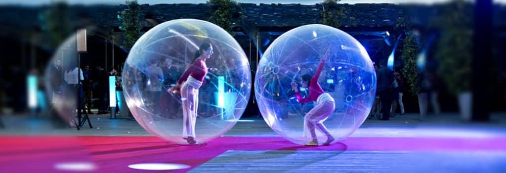 Les danseuses bulles