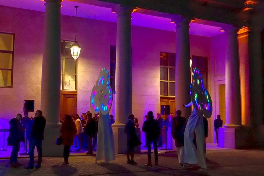 Le Grand Réfectoire, soirée d'inauguration avec les Nymphéas