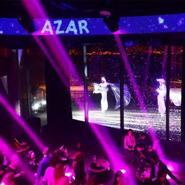 Les Féérix au Azar Club de Lyon