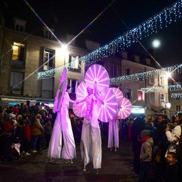 Parade de Noël pour les Nymphéas à Beauvais