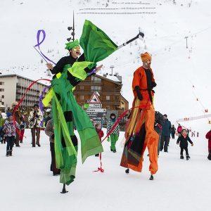 Cancan sur la neige