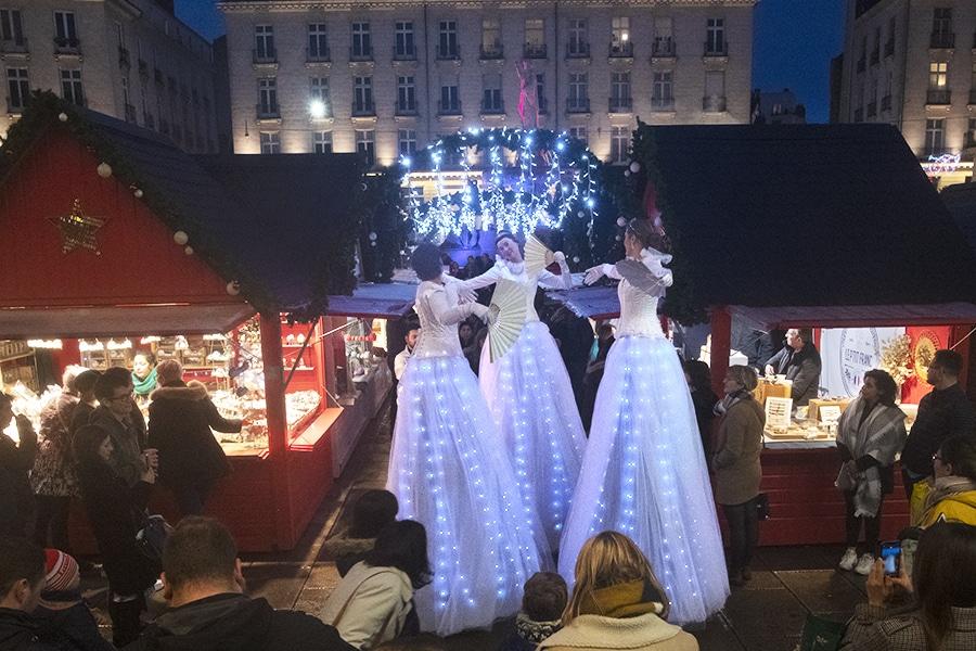 Les Welcome au Marché de Noël de Nantes