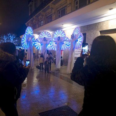 Une photo avec les Nymphéas pour avoir un souvenir de ce sublime marché de Noël