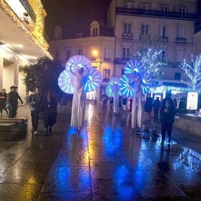 Les Nymphéas, échassiers blancs lumineux à Nantes